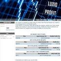 LUXIO PROFIT screenshot